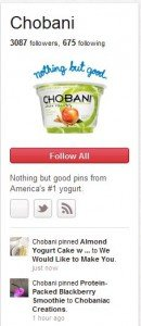 Chobani on Pinterest