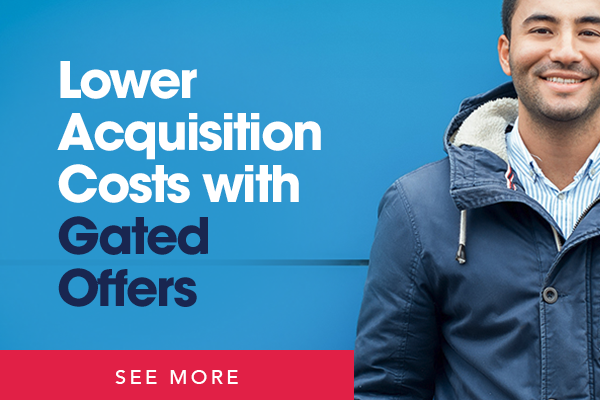 Lower Acquisition Costs with Gated Offers
