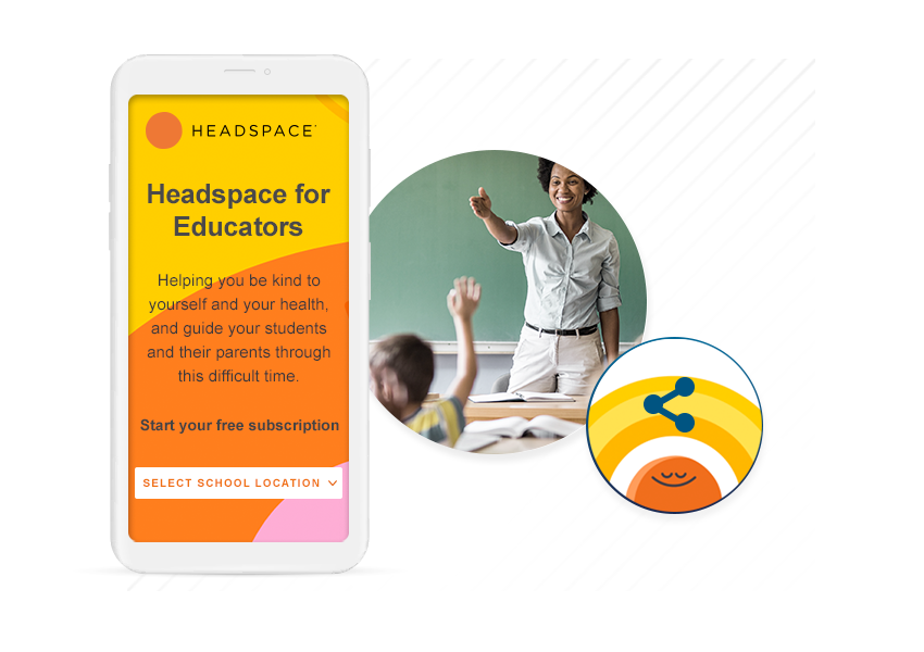 Headspace for Educators from SheerID